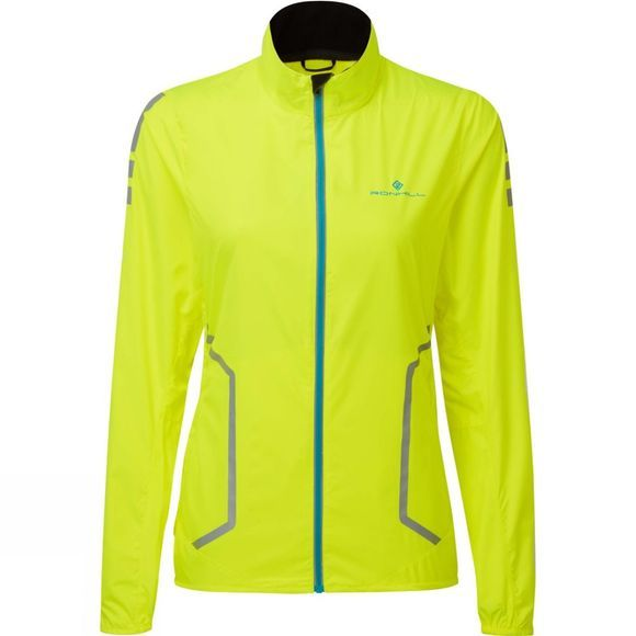 Ronhill Womens Stride Sundown Jacket Fluo Yellow/Reflect