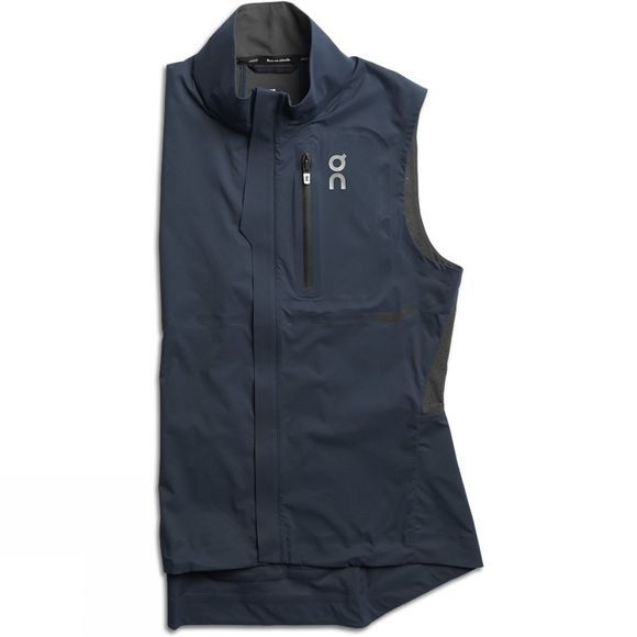 On Women's Weather Vest Navy/Shadow