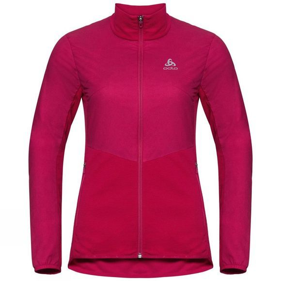 Odlo Womens Millennium S-Thermic Element Jacket Cerise