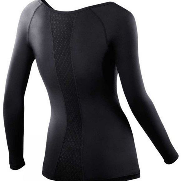 2XU Women's Long Sleeve Compression Top BLK/BLK