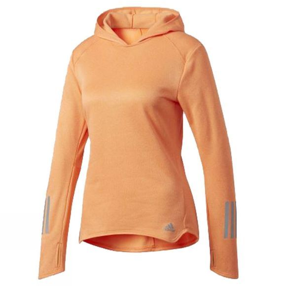 Adidas Women's Response Astro Hoodie EASY ORANGE
