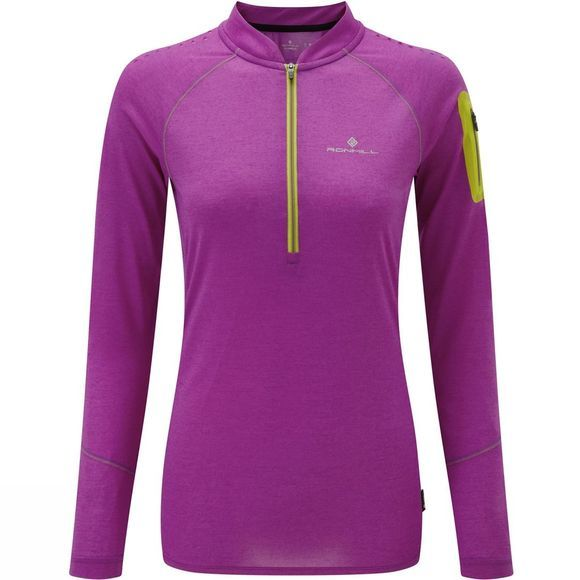 Women's Infinity Long Sleeve Zip Tee