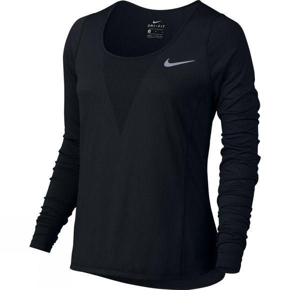 Nike Women's Zonal Relay Long Sleeve Top Black