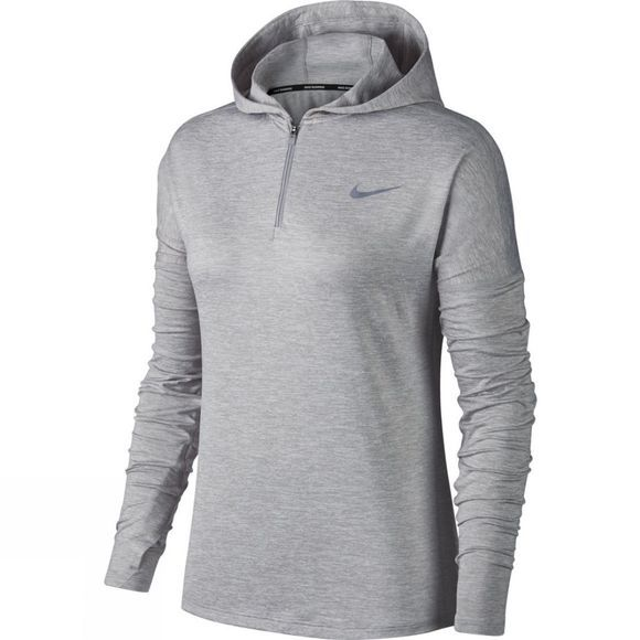 Nike Women's Dry Element Running Hoodie Atmosphere Grey/Htr