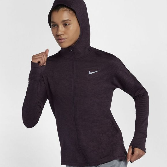 Nike Womens Therma-Sphere Element Hoodie Port Wine/Htr/Port Wine