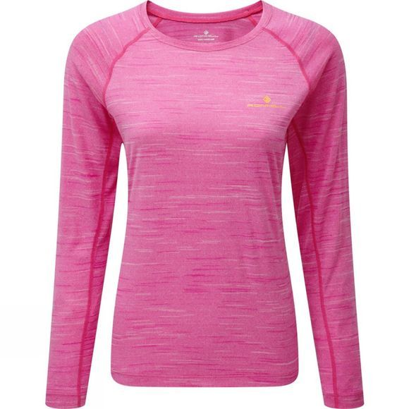 Womens Momentum Long Sleeve Tee