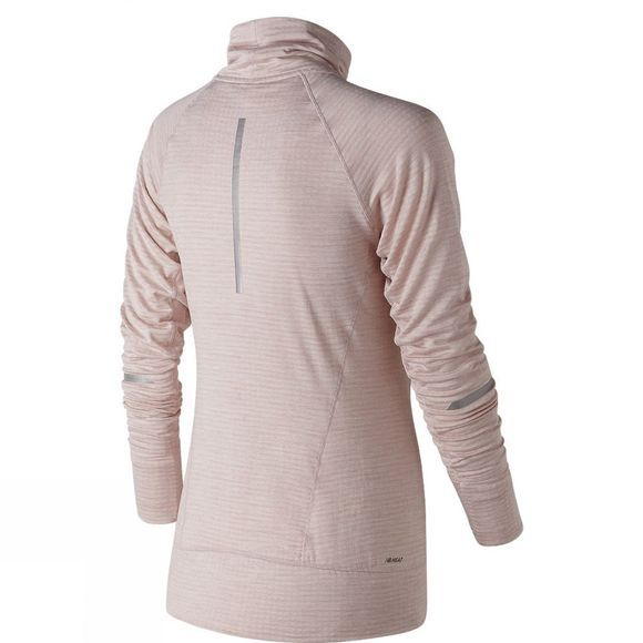 New Balance Womens Heat Pullover Clear Sky