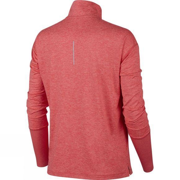Nike Women's Element Half-Zip Running Top Ember Glow/Pink Gaze