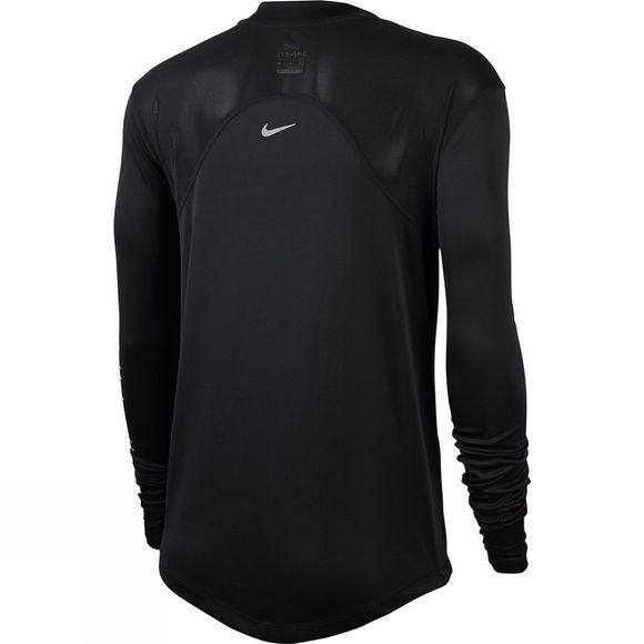 Nike Women's Dry Miler Long Sleeve Top GX Black/Silver