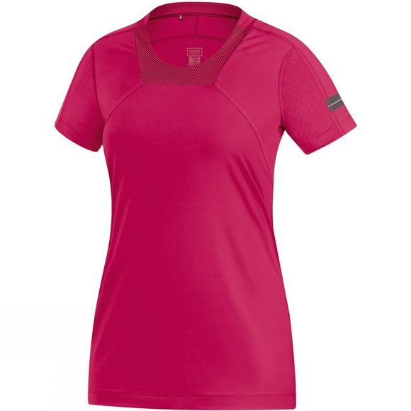 Gore Running Wear Women's Air Lady Shirt Mid Pink