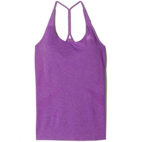 Adidas Women's Supernova Tank Top  SHOCK PURPLE F16