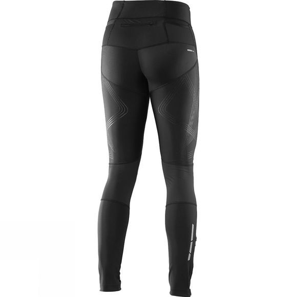 Salomon Womens Intensity Long Tights Black