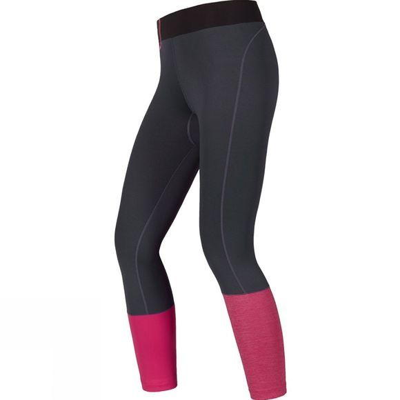 Gore Running Wear Women's Sunlight Lady Tights 7/8 Raven Brown/Jazzy Pink