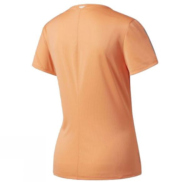 Adidas Women's Response Short Sleeve Tee EASY ORANGE