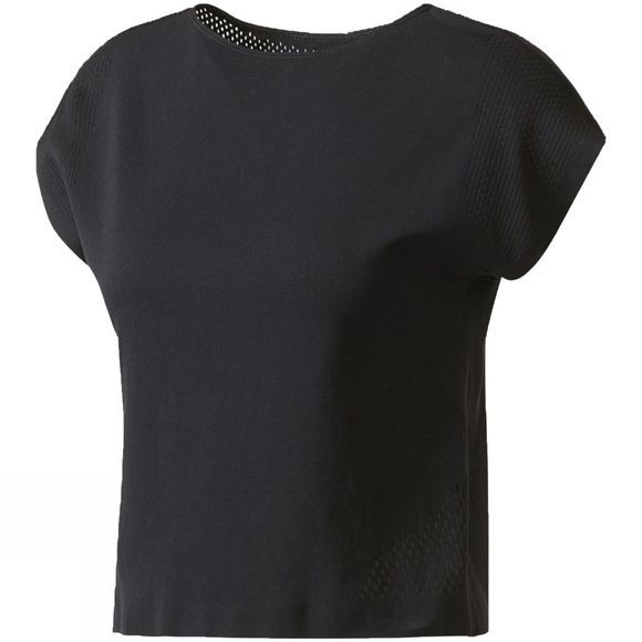 Adidas Womens Warpknit Tee Black