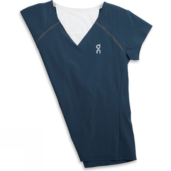 On Womens Performance-T Navy/White