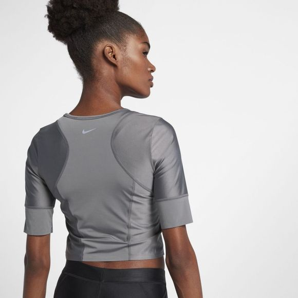 Nike Womens Running Top Gunsmoke/Black