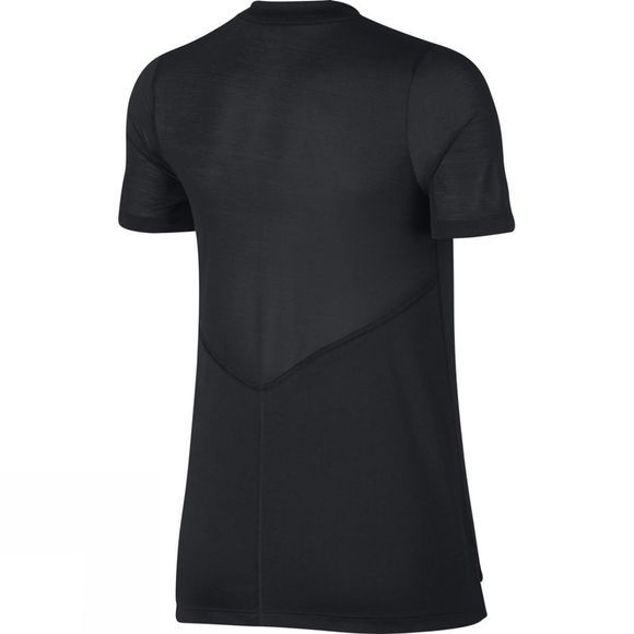 Nike Womens Dry Miler Running Top Black