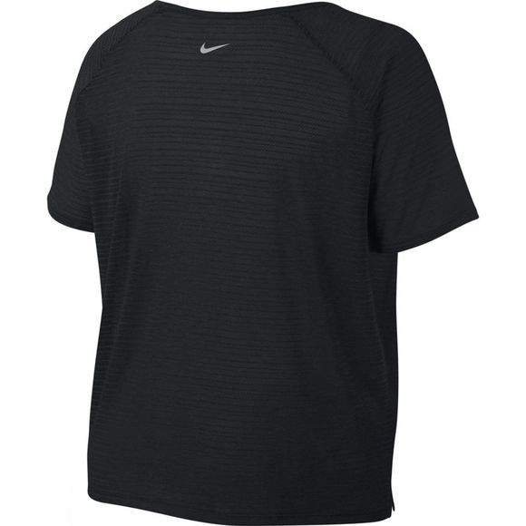 Nike Women's Miler Top Short Sleeve Breathe Black