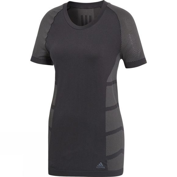 Adidas Womens Ultra Primeknit Light Tee Black