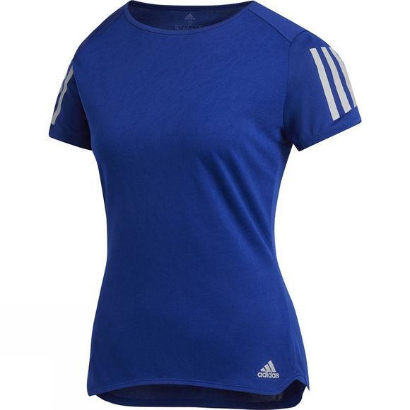 Adidas Women's Response Short Sleeve Top Mystery Ink F17