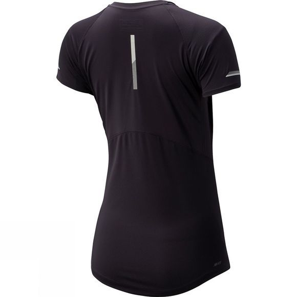 New Balance Women's Ice 2.0 Short Sleeve Iodine Voilet