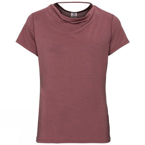 Odlo Womens Maha T-Shirt Roan Rouge