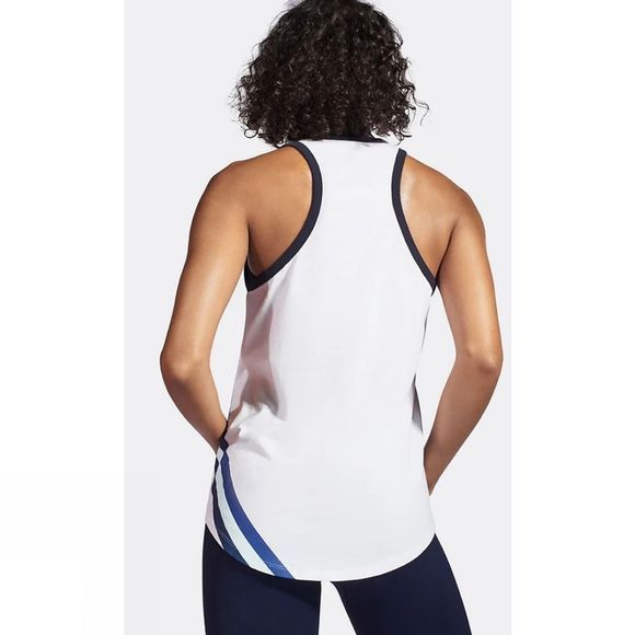 LNDR Womens Warm Up Tank White