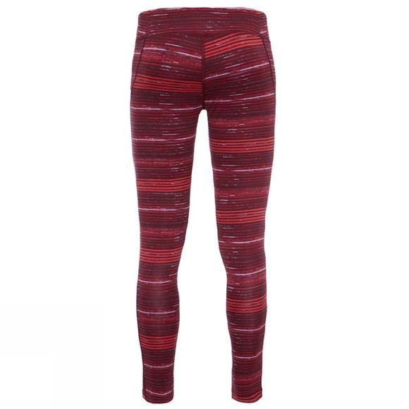 The North Face Womens Pulse Tights Deep Garnet Red