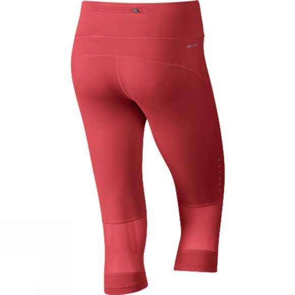Nike Women's Power Epic Running Capri LT CRIMSON/LT CRIMSON/REFLECTIVE SILV