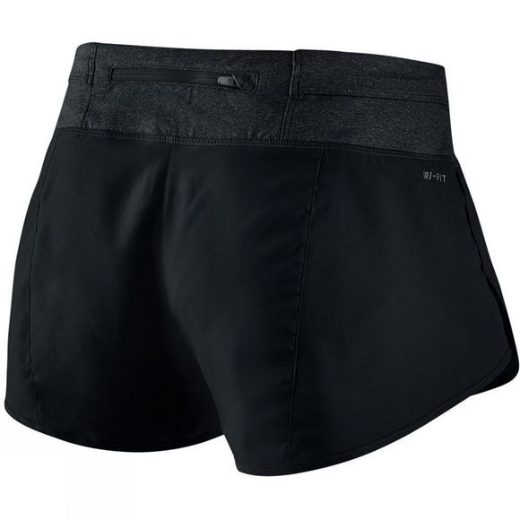 Nike Women's Rival Short BLACK/REFLECTIVE SILVER