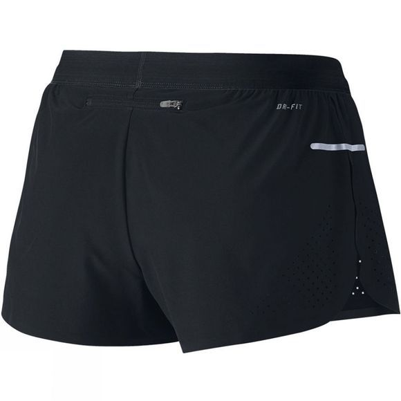 Nike Women's Race Woven Short BLACK / REFLECTIVE SILVER