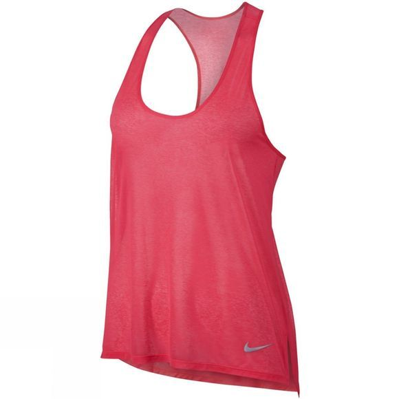 Nike Women's Breathe Running Tank RACER PINK
