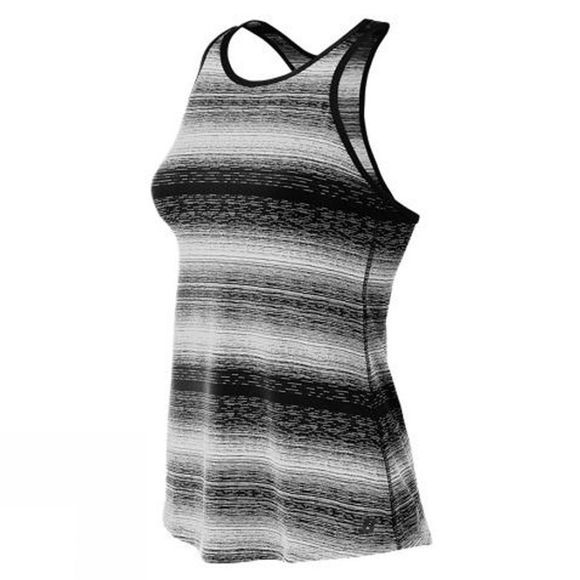 New Balance Women's Layer Tank BLACK/WHITE