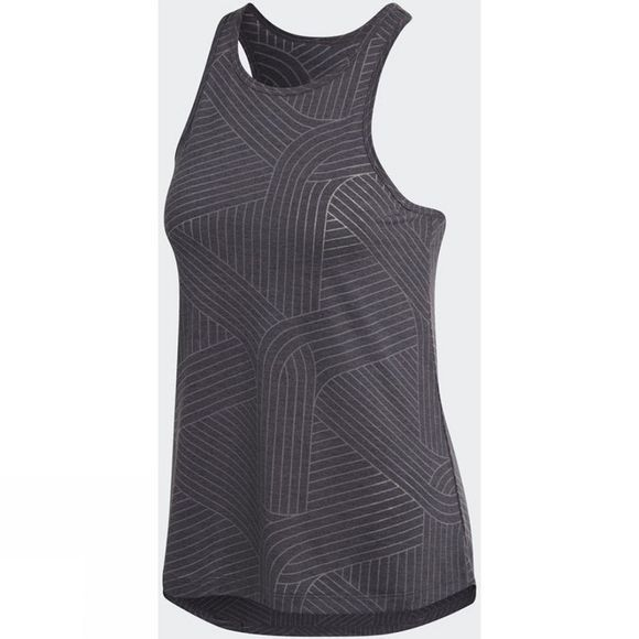 Adidas Womens Climalite Burnout Tank Top Black