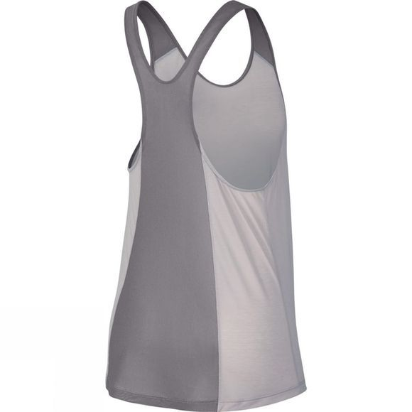 Nike Womens Breathe Flow Tank Particle Rose/Gunsmoke/Gunsmoke