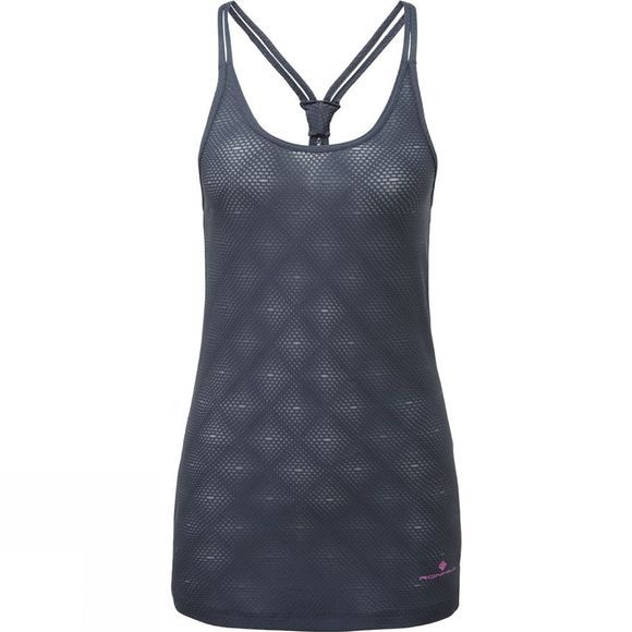 Ronhill Womens Momentum Poise Vest Charcoal