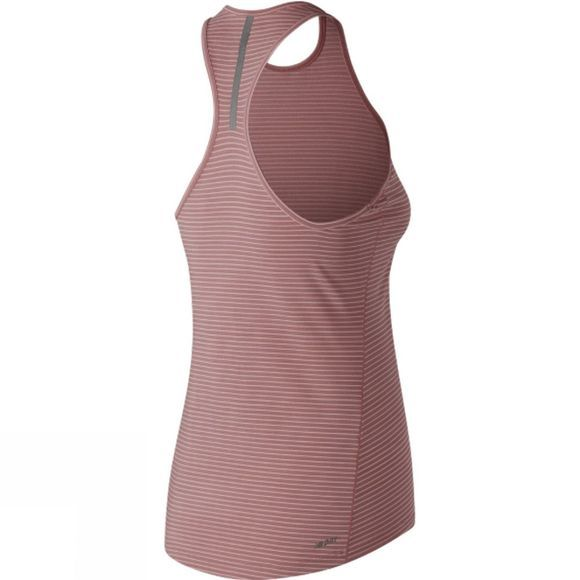 New Balance Womens Seasonless Tank Dusty Peach