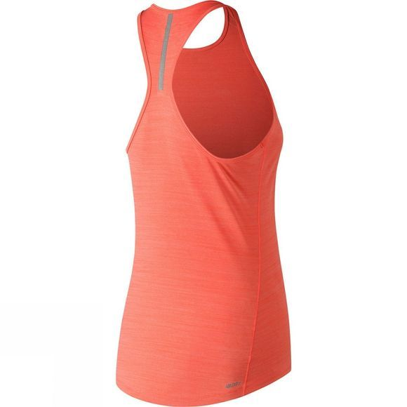 New Balance Womens Seasonless Tank Dragonfly Heather