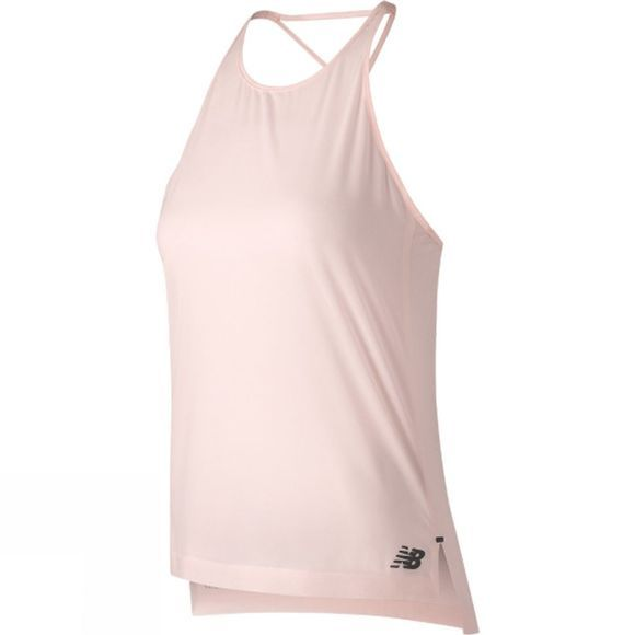 New Balance Q Speed Woven Tank  Sunrise Glow