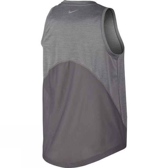 Nike Women's Miler Running Tank Gunsmoke Heather