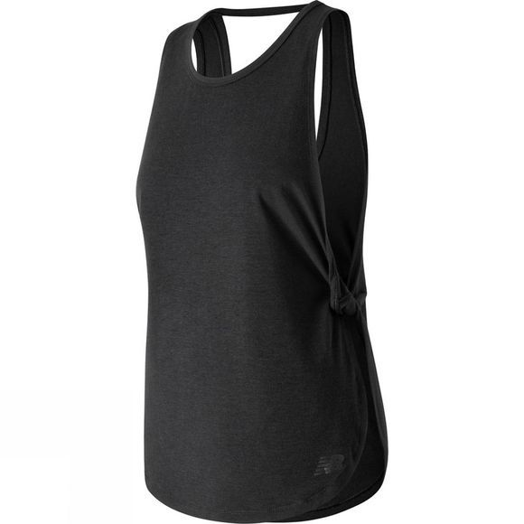 New Balance Women's Studio Relaxed Tank Black