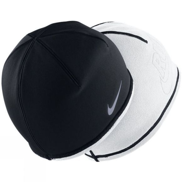 Nike Women's Beanie Hat BLACK/WHITE/(REFLECTIVE SILVER