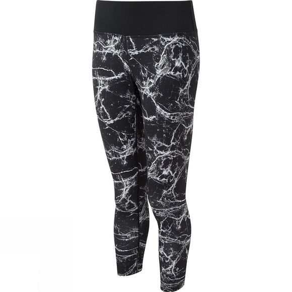 Ronhill Women's Vizion Rhythm Tights Black Marble