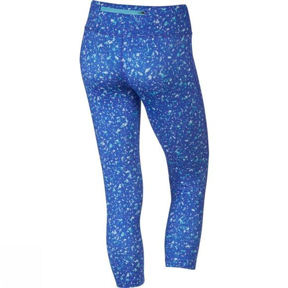 Nike Womens Power Essential Running Crop VIVID SKY/PARAMOUNT BLUE