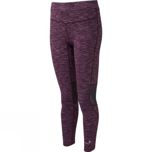 Ronhill Womens Infinity Tights Aubergine/Charcoal