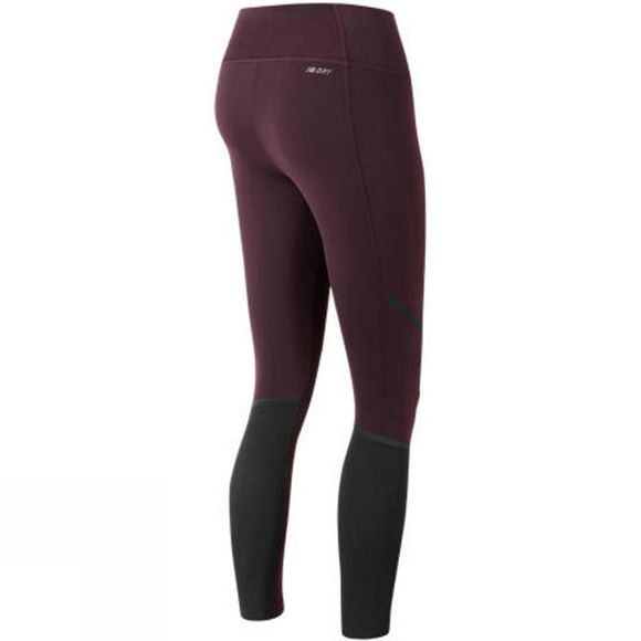 New Balance Womens Intensity Tight Black Rose