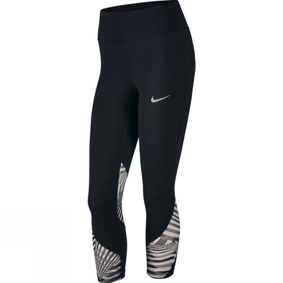 Nike Women's Power Epic Lux Running Crops Black/Black