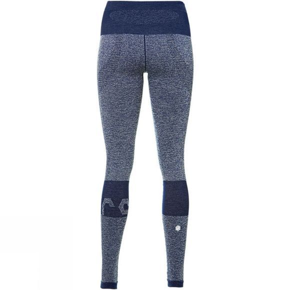 Asics Womens Seamless Tights Indigo Blue