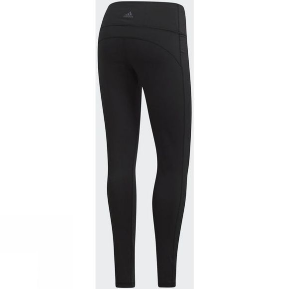 Adidas Womens Believe This High-Rise Soft Tights Black